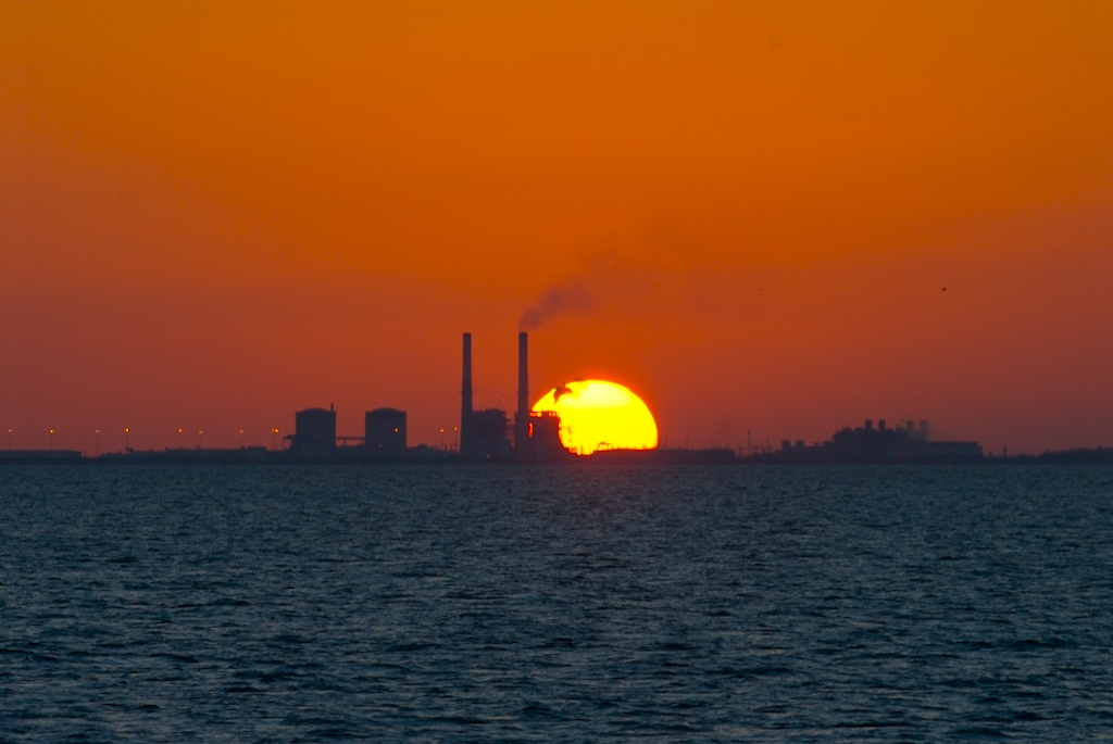 Turkey Point Nuclear Generating Station (Photo Credit: Tedd Greenwald. Used by permission.)