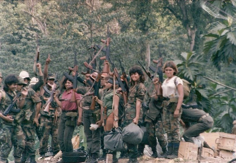 Contras in the Nueva Guinea zone of southeast Nicaragua, 1987 (Image credit: Wikipedia)