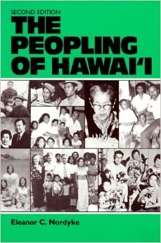 "Eleanor Nordyke's book ""The Peopling of Hawaii"" was published for the East-West Population Institute by the University of Hawaii Press. (Image credit: Amazon.com)"