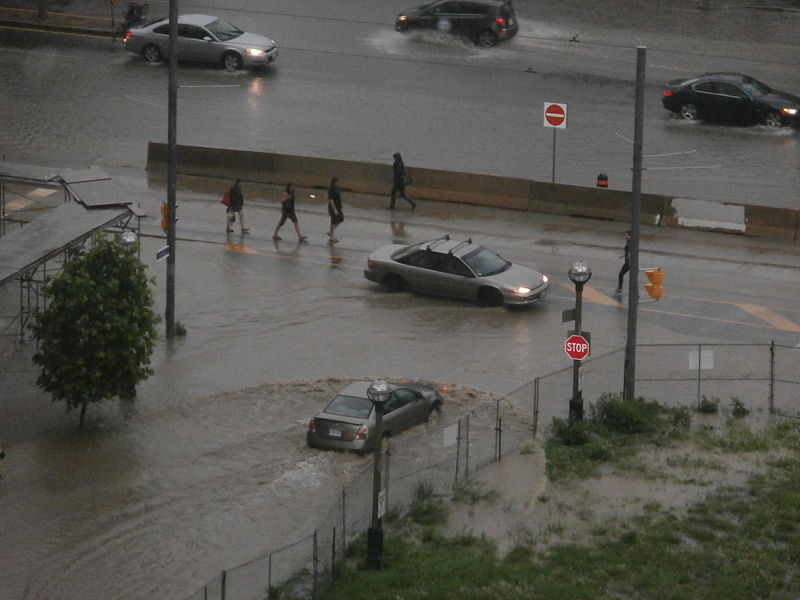 Toronto flash floods June 2013 (Image credit: Mark Watmough via Flikr/Wikimedia Creative Commons)