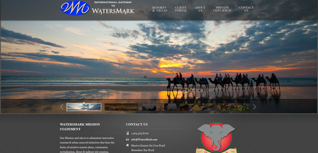 Watersmark Homepage Camels 1080