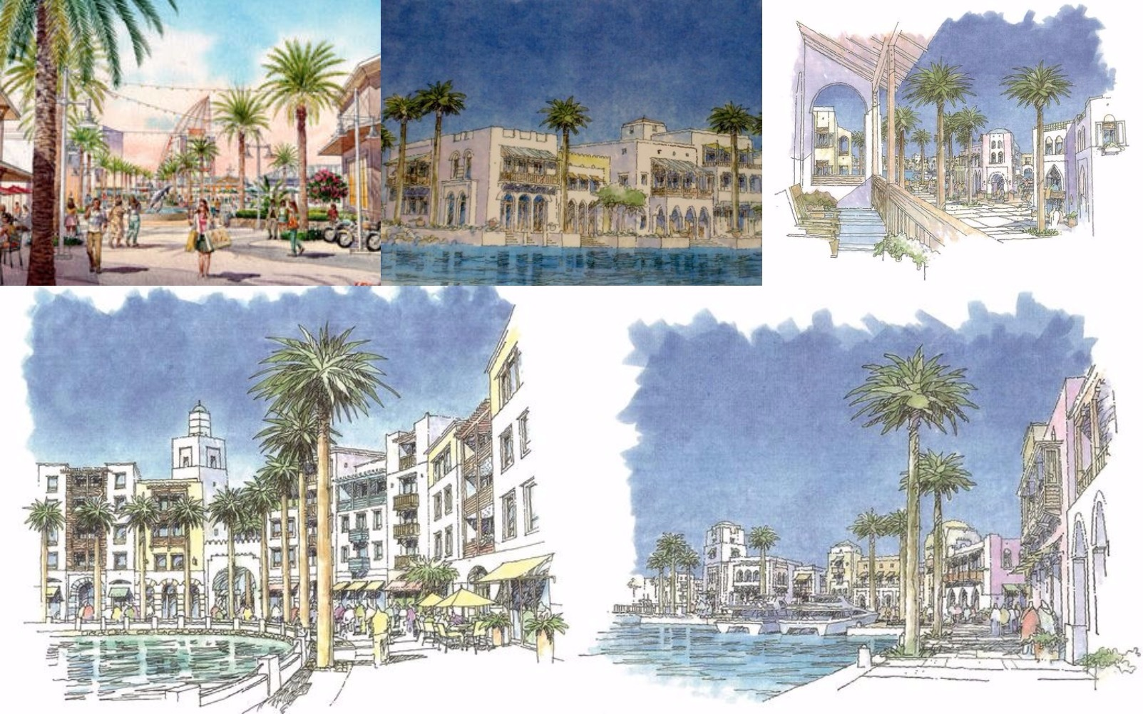 Conceptual drawings provided to Port Canaveral by Watersmark, LLC