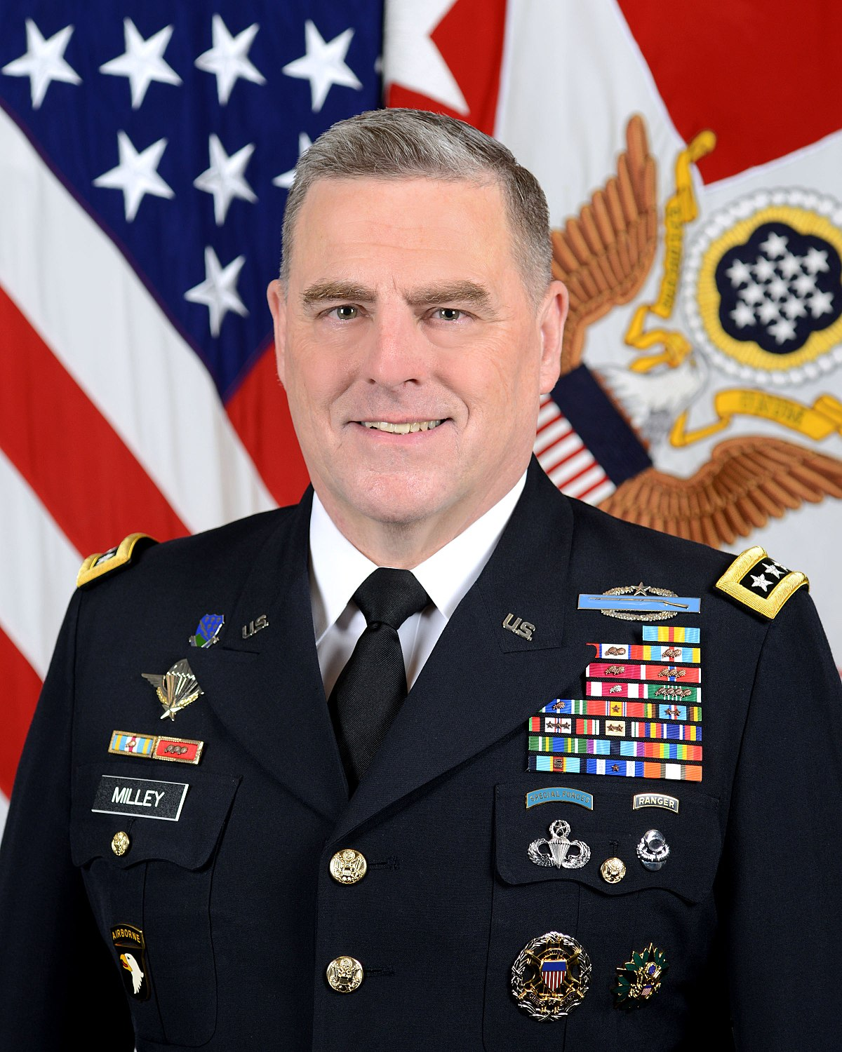 United States Army Chief of Staff General Mark A. Milley
